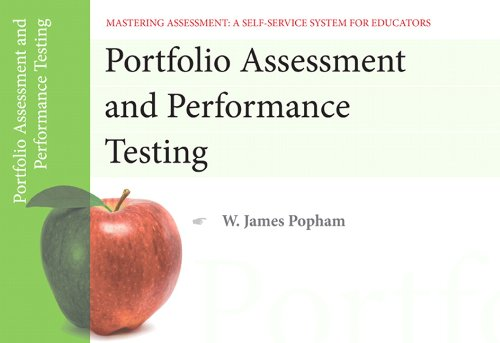 Portfolio Assessment and Performance Testing 9780132734868