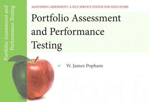 Portfolio Assessment and Performance Testing