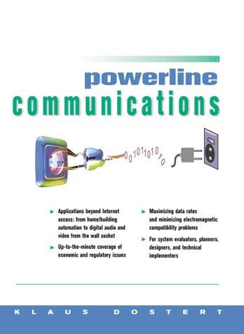 Powerline Communications 9780130293428