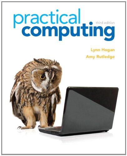 Practical Computing 9780132839969