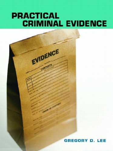 Practical Criminal Evidence 9780131714410