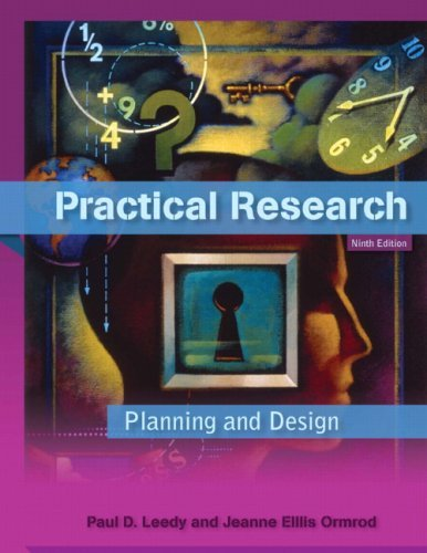Practical Research: Planning and Design 9780137152421