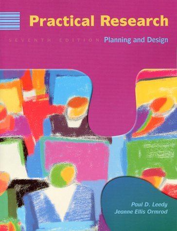 Practical Research: Planning and Design 9780139603600