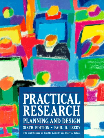 Practical Research: Planning and Design 9780132414074