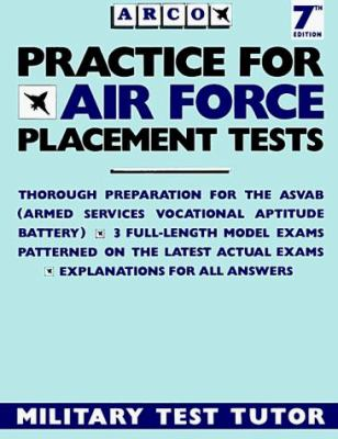 Practice for Air Force Placement Exams 9780136894230