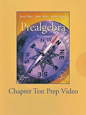 Prealgebra: Chapter Test Prep 9780131491304
