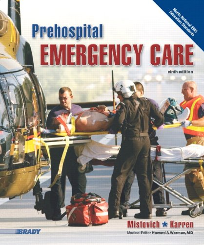 Prehospital Emergency Care 9780135028094