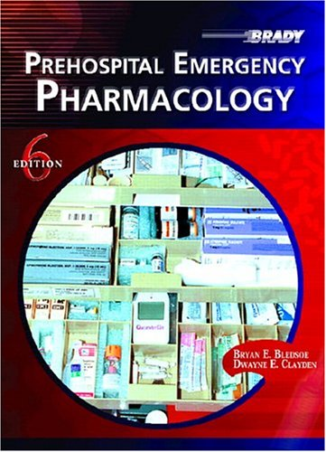 Prehospital Emergency Pharmacology 9780131507111