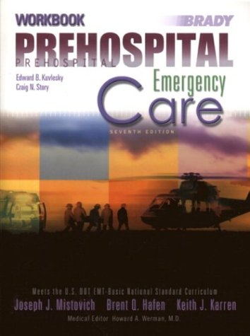 Prehospital Emergnecy Care Workbook 9780131115385