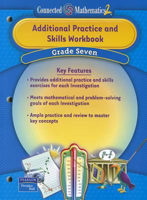 Prentice Hall Connected Mathematics Grade 7 Additional Practice Workbook 2006 9780131656154