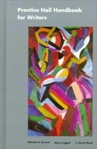 Prentice Hall Handbook for Writers 9780130374257