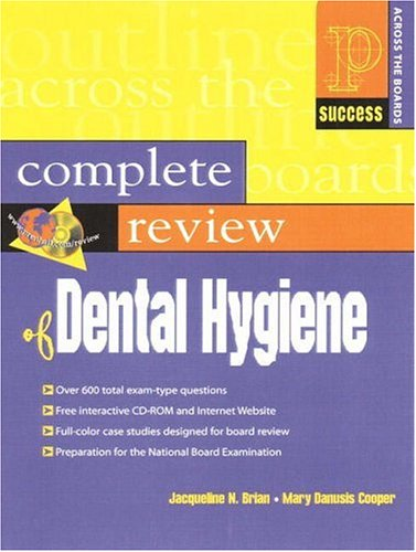 Prentice Hall Health's Complete Review of Dental Hygiene [With CDROM] 9780130833280