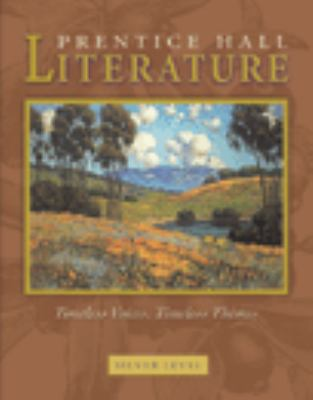 Prentice Hall Literature Timeless Voices Timeless Themes Student Edition Grade 8 Revised 7e 2005c 9780131804333