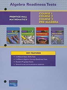 Prentice Hall Math Algebra Readiness Tests Blackline Masters 2007 9780132013901
