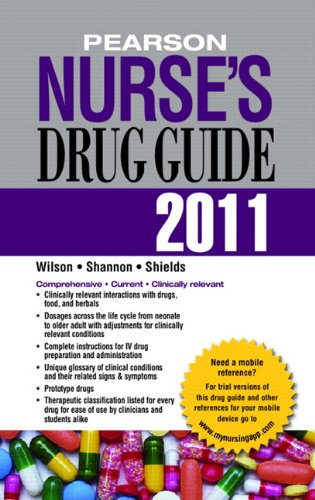 Pearson Nurse's Drug Guide [With Access Code] 9780132149709