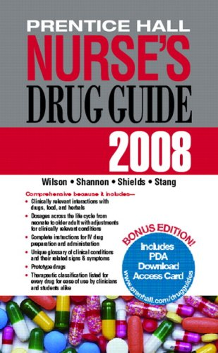 Prentice Hall Nurse's Drug Guide 9780132352000