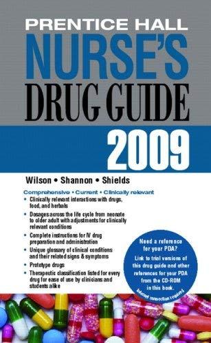 Prentice Hall Nurse's Drug Guide [With CDROM] 9780135034286