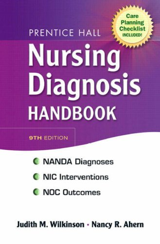 Prentice Hall Nursing Diagnosis Handbook [With Checklist] 9780138131142