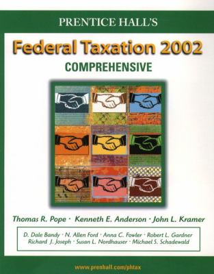 Prentice Hall's Federal Taxation 2002: Comprehensive 9780130550606