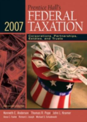 Prentice Hall's Federal Taxation: Corporations, Partnerships, Estates, and Trusts 9780131751484