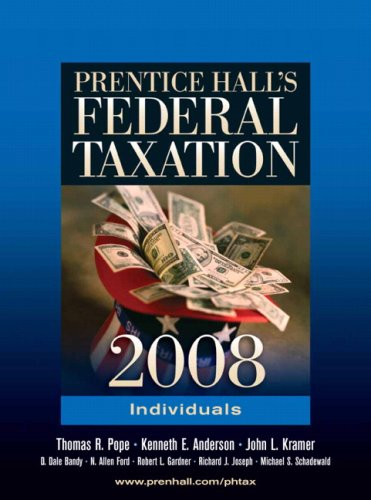 Prentice Hall's Federal Taxation: Individuals 9780136156376