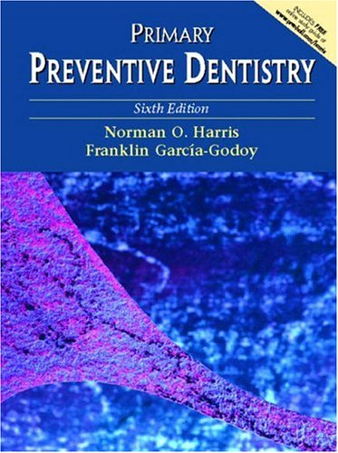 Primary Preventive Dentistry 9780130918918