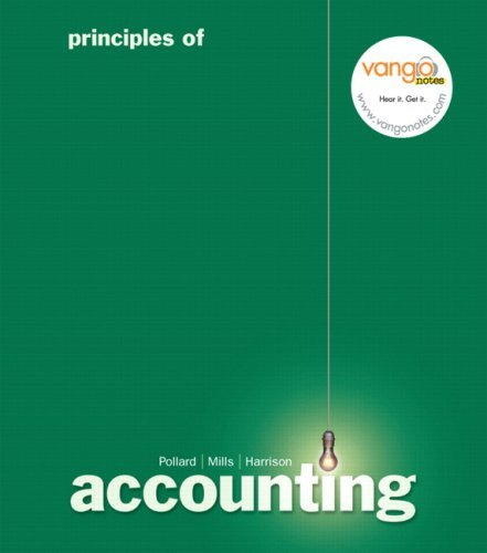Principles of Accounting 9780132304795