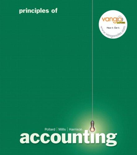 Principles of Accounting 9780132304795