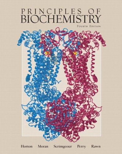 Principles of Biochemistry 9780131453067