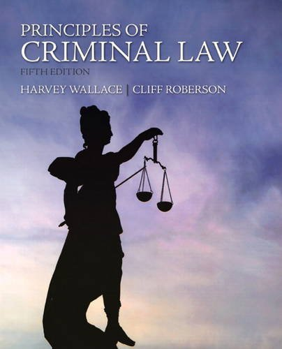 Principles of Criminal Law 9780135121580