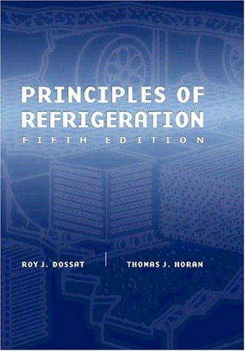 Principles of Refrigeration 9780130272706