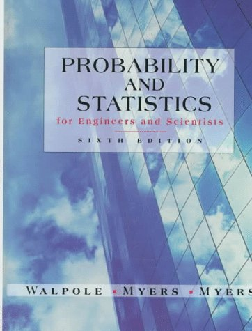 Probability and Statistics for Engineers and Scientists 9780138402082