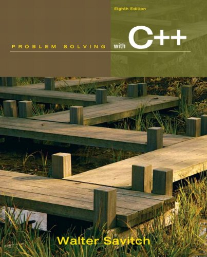 Problem Solving with C++ [With Access Code] 9780132162739