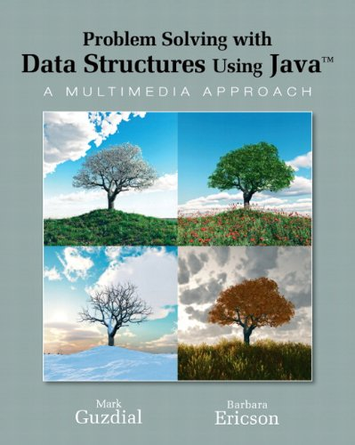 Problem Solving with Data Structures Using Java: A Multimedia Approach 9780136060611