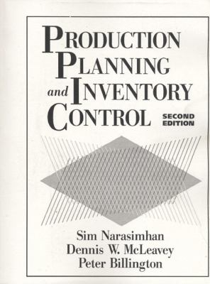 Production Planning and Inventory Control 9780131862142