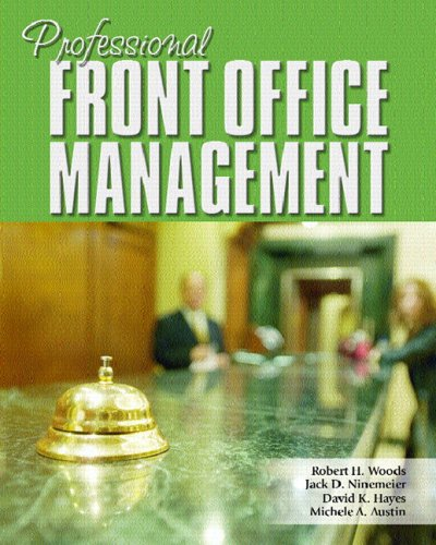 Professional Front Office Management 9780131700697
