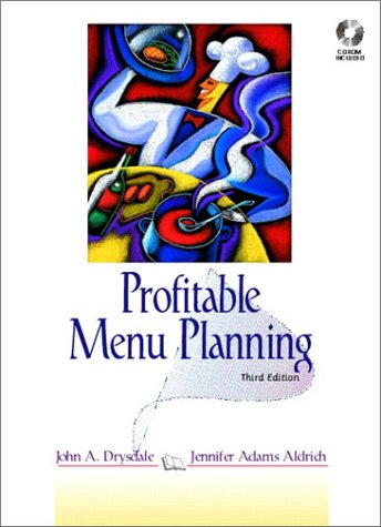 Profitable Menu Planning [With Disk]