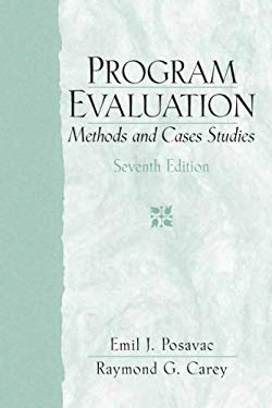 Program Evaluation: Methods and Case Studies 9780132275606