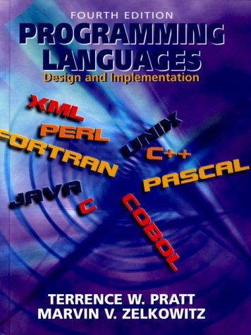 Programming Languages: Design and Implementation 9780130276780