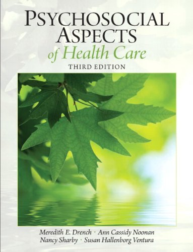 Psychosocial Aspects of Health Care 9780131392182