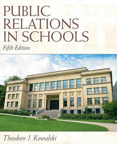 Public Relations in Schools 9780137072453