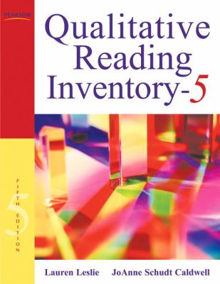 Qualitative Reading Inventory-5 [With DVD] 9780137019236