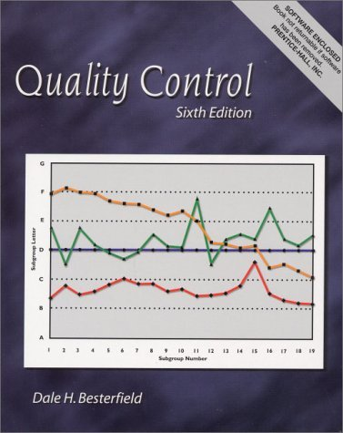 Quality Control [With CDROM] 9780130256683