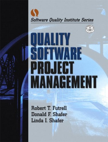 Quality Software Project Management 9780130912978