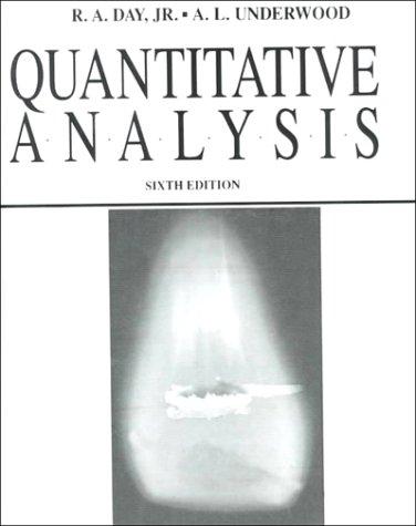 Quantitative Analysis 9780137471553