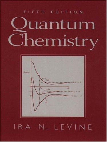 Quantum Chemistry 9780136855125