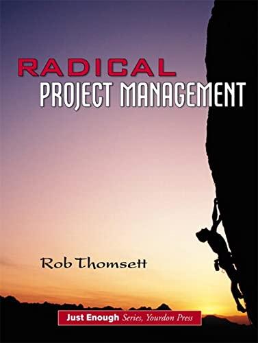 Radical Project Management 9780130094865