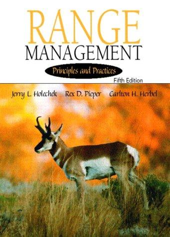 Range Management: Principles and Practices 9780130474759