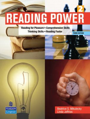 Reading Power: Reading for Pleasure, Comprehension Skills, Thinking Skills, Reading Faster 9780131305489