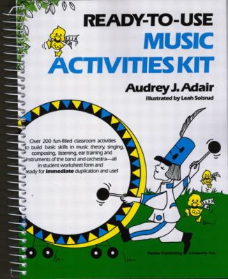 Ready-To-Use Music Activities Kit 9780137622955